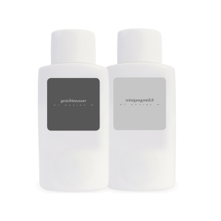 GESINE W cleansing set: facial toner + cleansing milk
