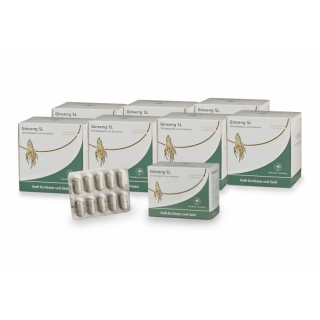 Ginseng SL subscription: immediate purchase, 700 capsules + 50 bonus capsules