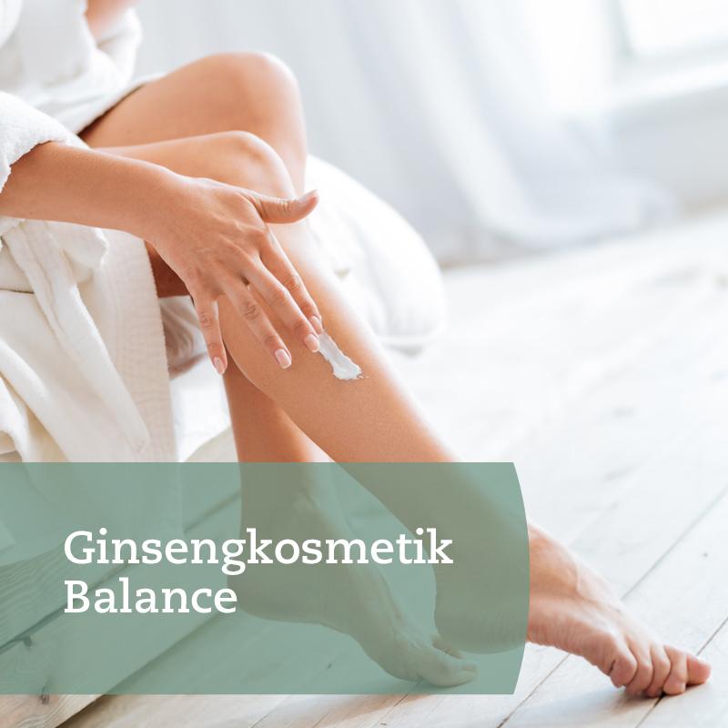 Kosmetik mit Ginseng