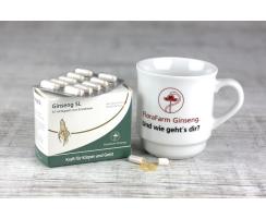 Tea Set: FloraFarm mug + 50 capsules Ginseng SL